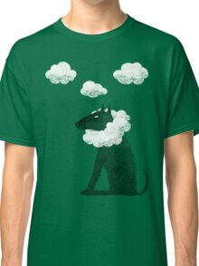 Head in Clouds Dreamer Dog Classic T-Shirt