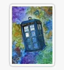 TARDIS from Dr Who Sticker