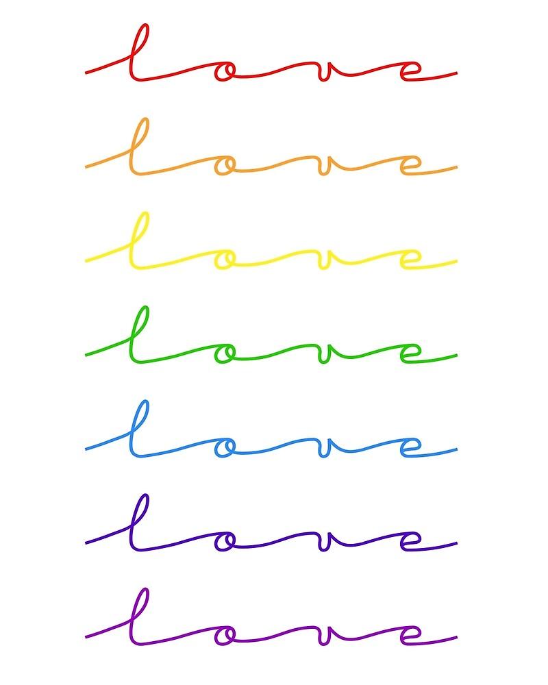 #LoveWins Rainbow by Amy Pendergrass