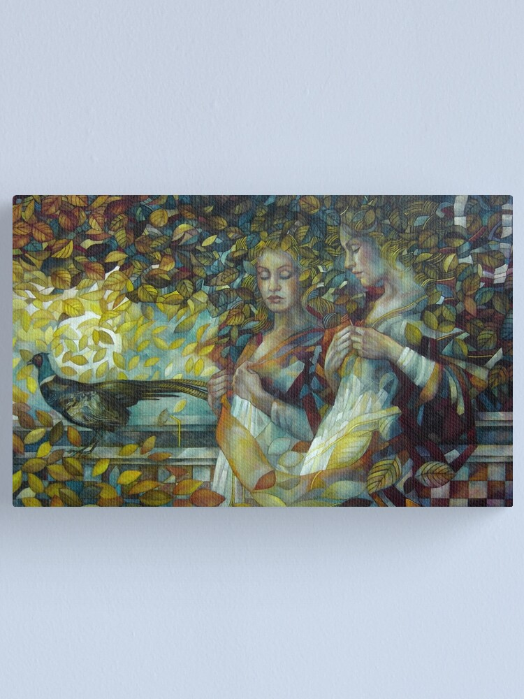 Alternate view of The passage Canvas Print
