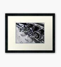 Trumpet Digital Painting Framed Print