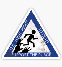 Support the Purge Sticker