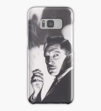 Original Charcoal Drawing of Vincent Price in The Bat Samsung Galaxy Case/Skin