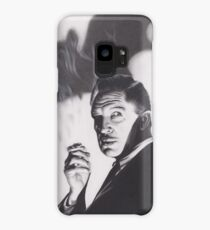 Original Charcoal Drawing of Vincent Price in The Bat Case/Skin for Samsung Galaxy