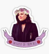 Queen of Sass Sticker