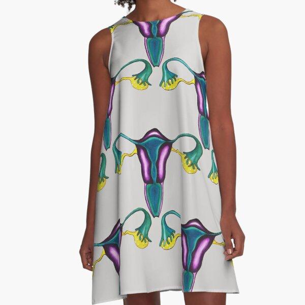 Classical uteruses A-Line Dress