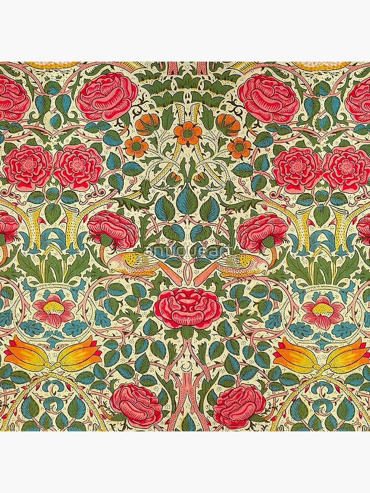 Rose Chintz William Morris Vintage Pattern by antiqueart