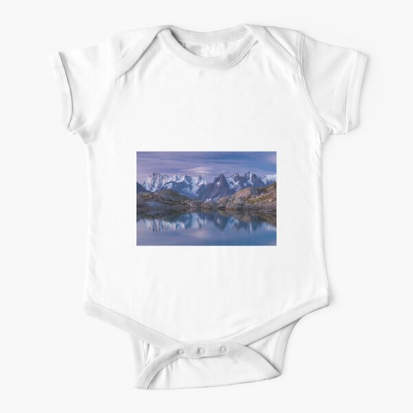 Dreams Before The Dawn Short Sleeve Baby One-Piece