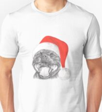 Staffie Smile Christmas - Staffordshire Bull Terrier T-Shirt