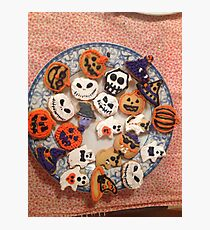 HAPPY HALLOWEEN COOKIES FOR YOU  Photographic Print