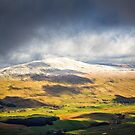 Whernside in Winter by David Lewins