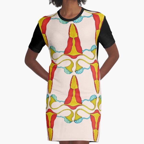 Iron uterus Graphic T-Shirt Dress
