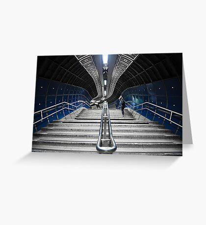 Underground Stair Greeting Card