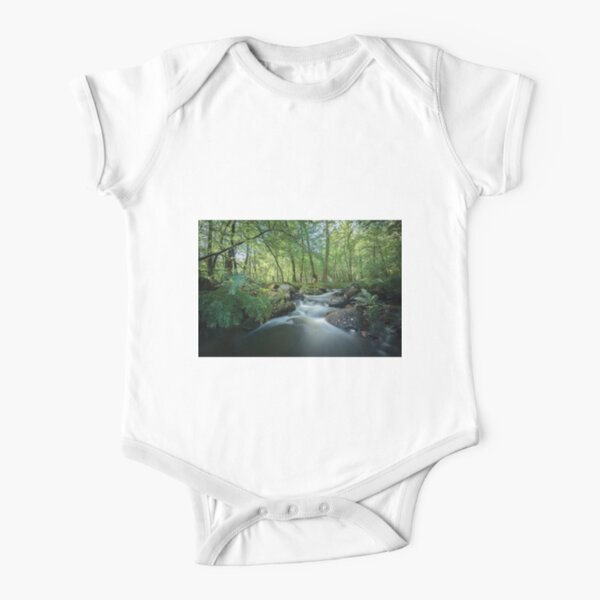 Fresh River Short Sleeve Baby One-Piece