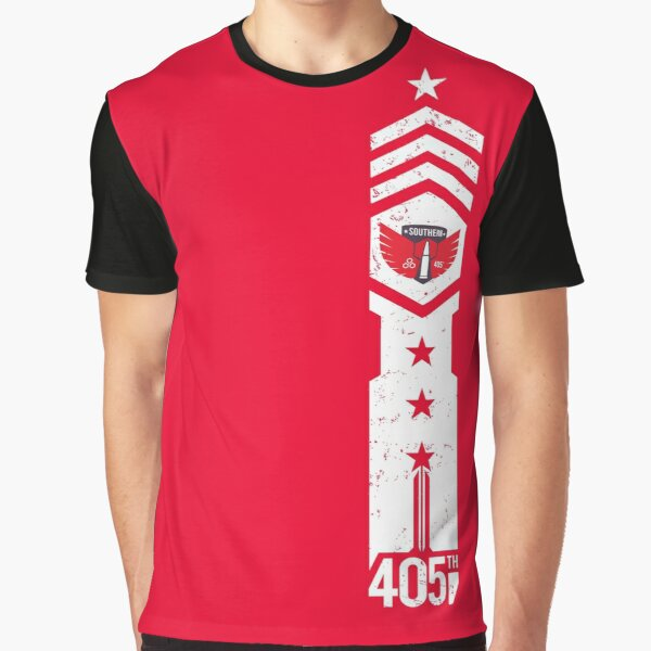 405th Southern Regiment Graphic T-Shirt