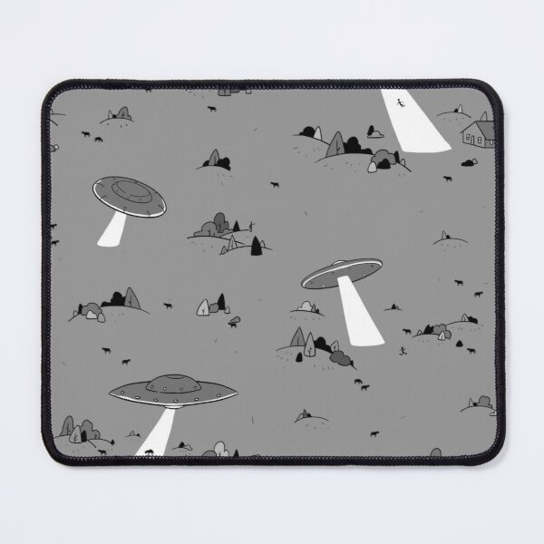 Abduction Party Mouse Pad