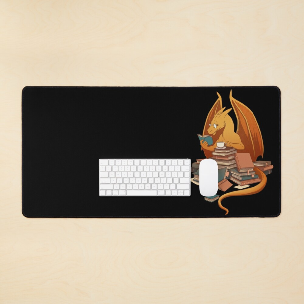 The Librarian's Horde Mouse Pad