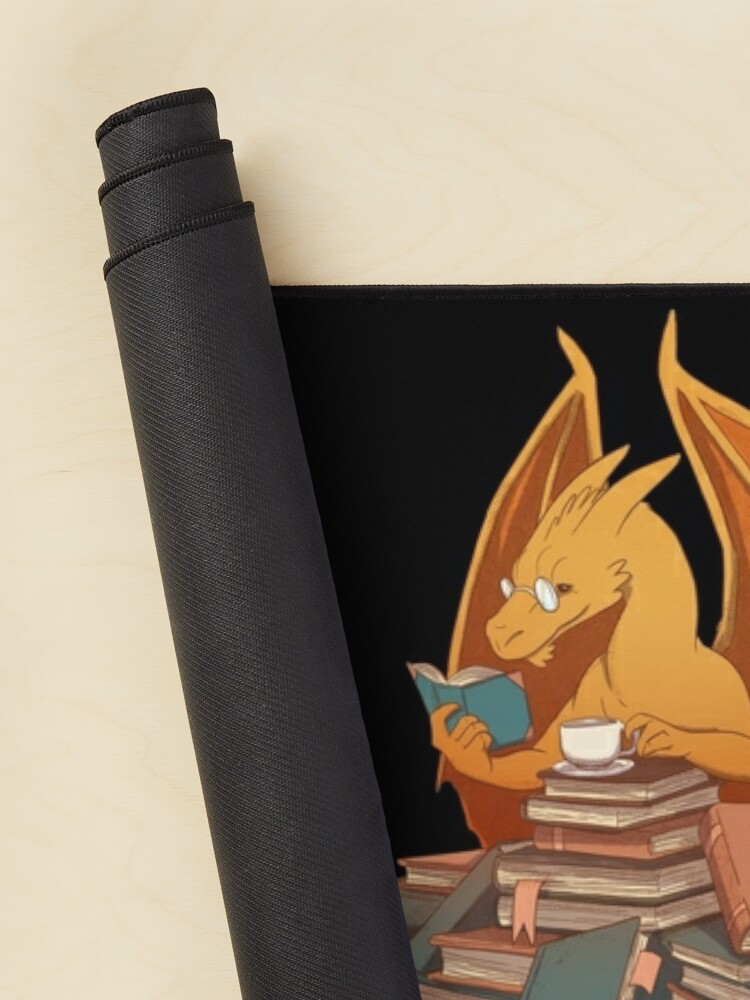 Alternate view of The Librarian's Horde Mouse Pad