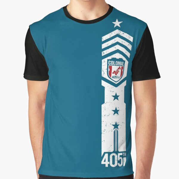 405th Colonial Regiment Graphic T-Shirt