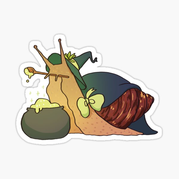 more snail! Kekkonen Sticker