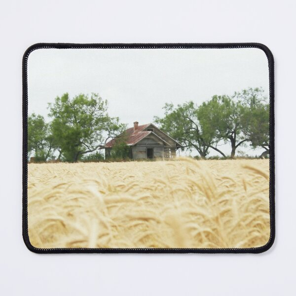 Old House in a Wheat Field Mouse Pad