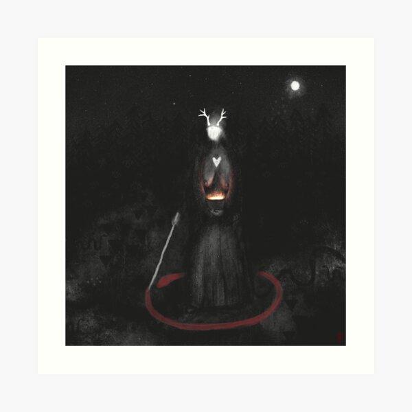 Hringa - The Circle Art Print