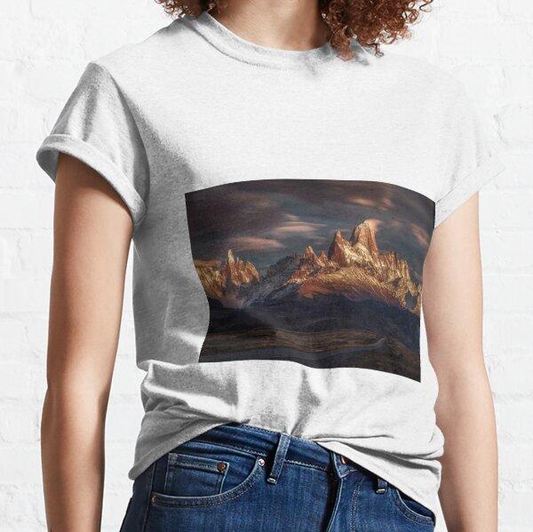 Ciel de Patagonie en mouvement T-shirt classique