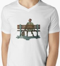 Forrest gump Men's V-Neck T-Shirt