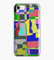 Raw Paint 3 - Abstract Colour iPhone Case/Skin