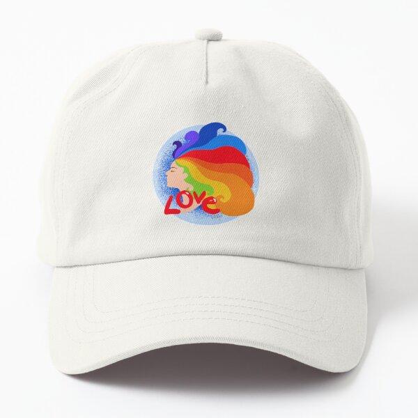 Love, love, love Dad Hat