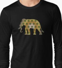 Elephant Psychedelic Animal Lover Nature Hippie Cool Wild Life Illustration Design T-Shirts T-Shirt