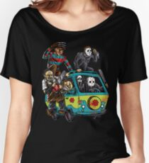 The Massacre Machine Horror Women's Relaxed Fit T-Shirt