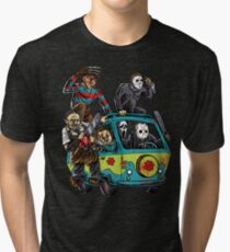 The Massacre Machine Horror Tri-blend T-Shirt