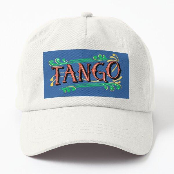 Fileteado Porteño Argentine Blue and Red Tango Poster Dad Hat