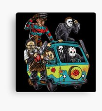 The Massacre Machine Horror Canvas Print