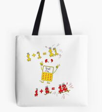 Drive the Calculator Nuts 1 Tote Bag