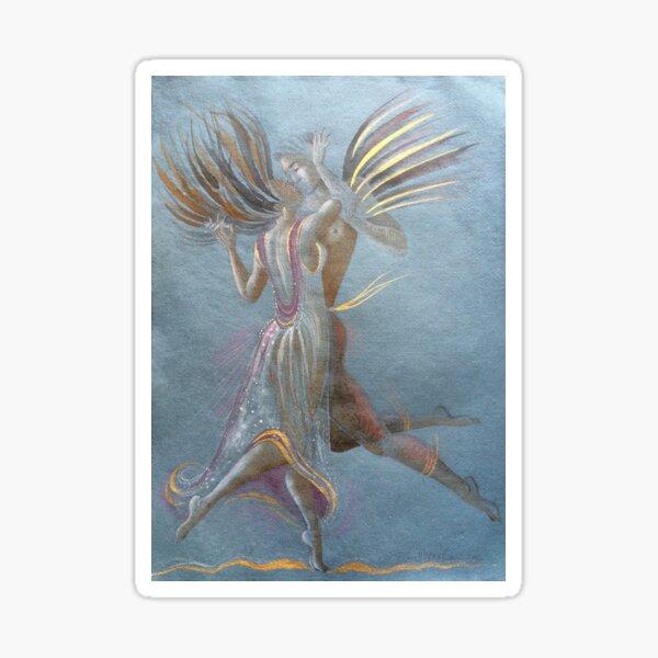 Dance Kiss Sticker