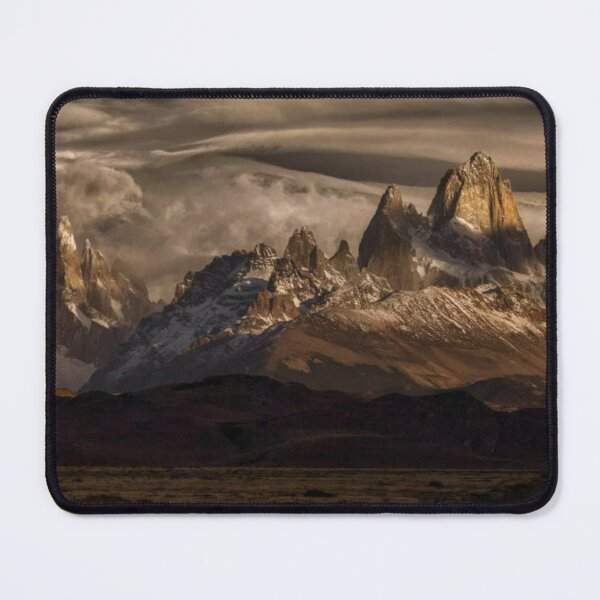Striped Sky Over The Patagonia Spikes Mouse Pad