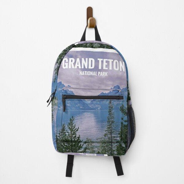 Grand Teton National Park Poster Backpack