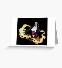 Zatanna Greeting Card