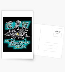 crow fly Postcards