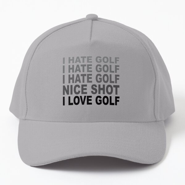 golf, fun golf, funny golf, golf humour, golf dad, golf papa Baseball Cap