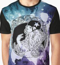 Roller Derby Art Nouveau Graphic T-Shirt