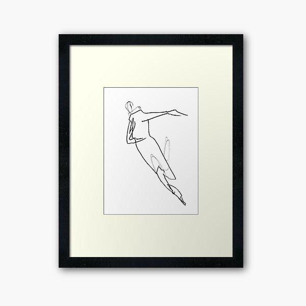 Astral Dance Framed Art Print
