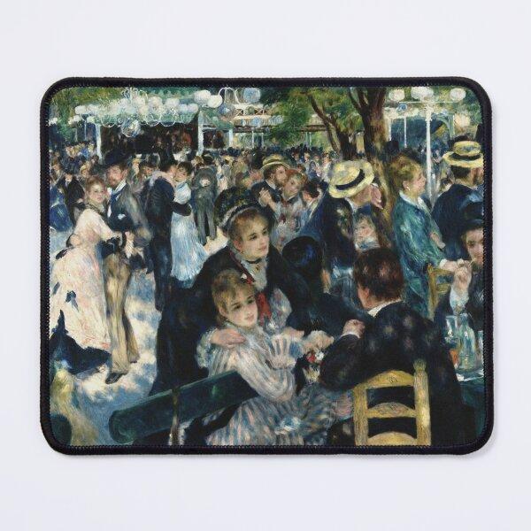 Bal du moulin de la Galette - Renoir ( Dance at Le moulin de la Galette) Mouse Pad
