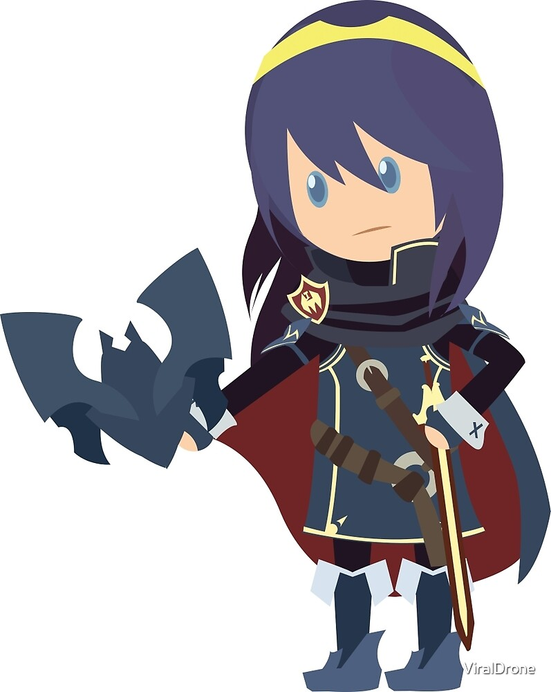 Chibi Lucina Vector by ViralDrone