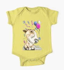 Party Bull Terrier Tan Kids Clothes