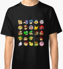 Super Smash Bros. Melee Neutral Stock Icons Classic T-Shirt