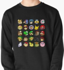 Super Smash Bros. Melee Neutral Stock Icons Pullover