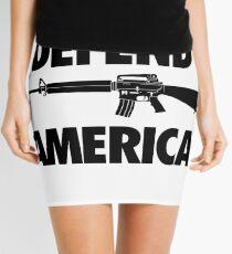 Defend America Mini Skirt